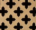 Oregon Cross 28mm Decorative Screening Panel Unfinished MDF Sheet 1830mm x 610mm x 4mm
